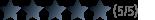 Kundenbewertung 5 von 5 Sternen für Antistaub-Holzpellets